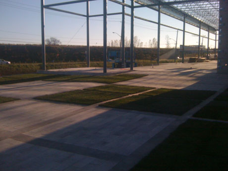 Completion of southeast corner of BMW Kitchener