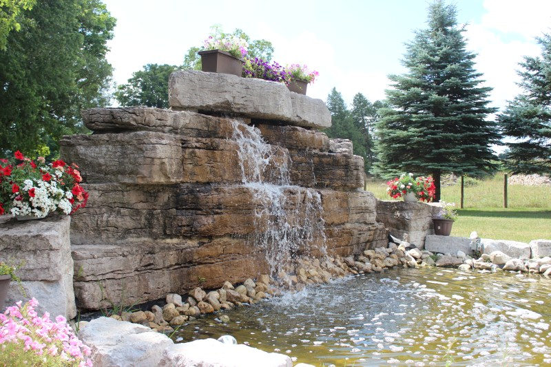 waterfall feature kitchener